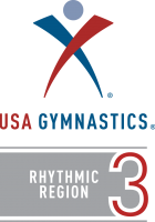 Logo - USA Gymnastics Rhythmic- Region 3