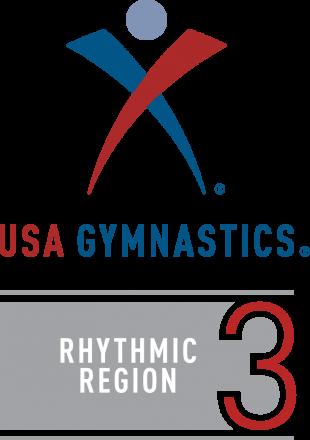 Logo - USA Gymnastics Rhythmic- Region 3